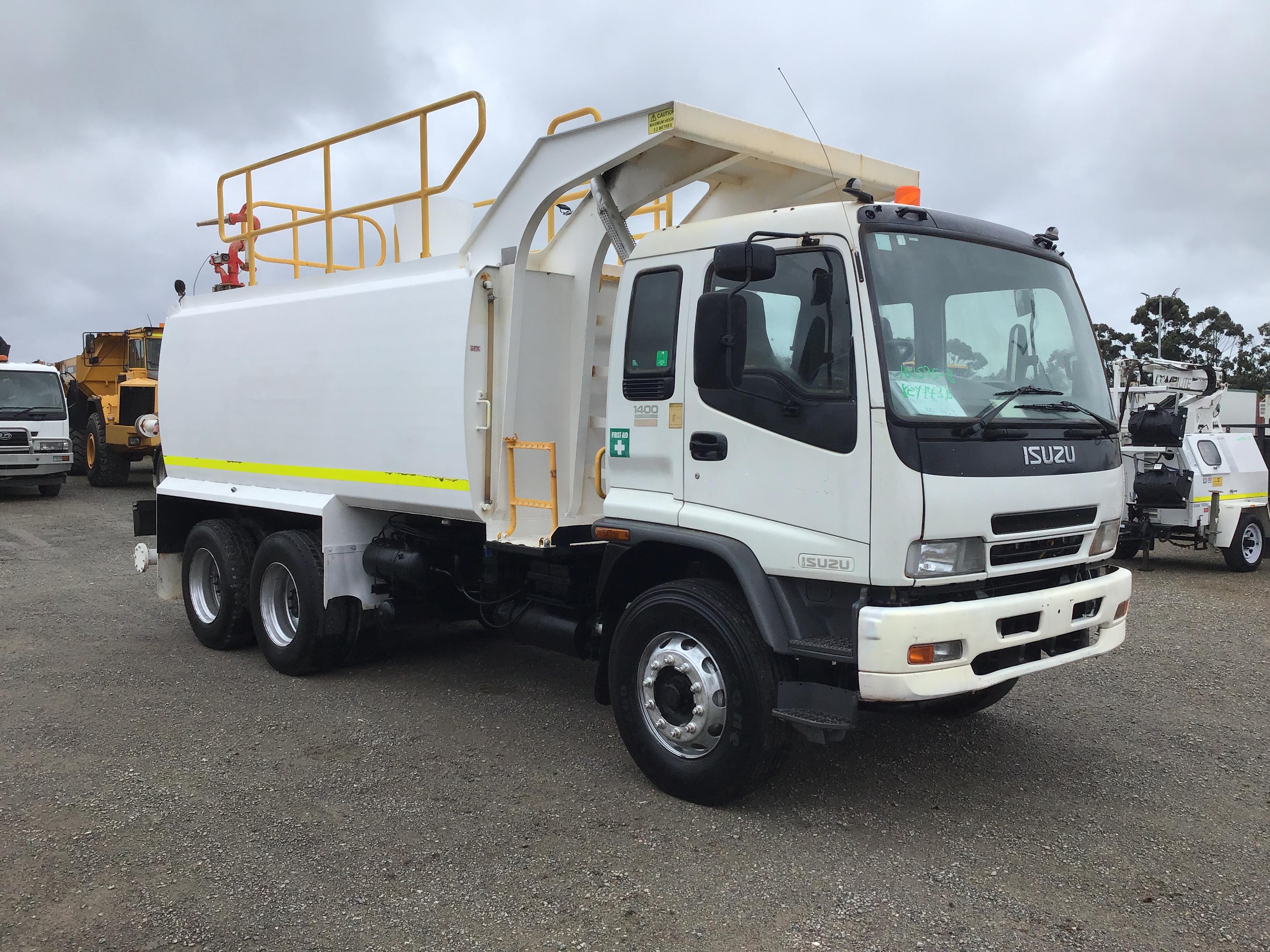 2007 Isuzu FVZ 1400 6 x 4 Water Truck