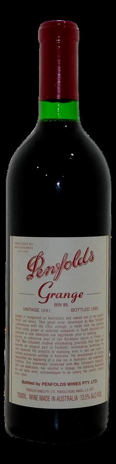 Penfolds Bin 95 Grange 1991 (1x 750mL), SA