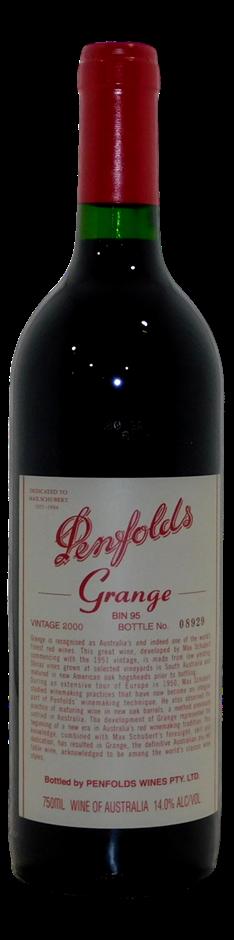 Penfolds Bin 95 Grange 2000 (1x 750mL), SA