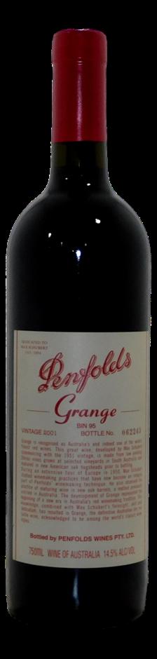 Penfolds Bin 95 Grange 2001 (1x 750mL), SA