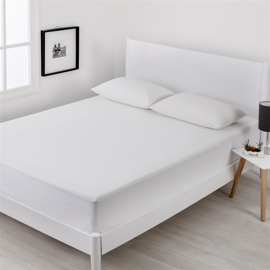 Dreamaker Cool Touch Mattress Protector King Single Bed
