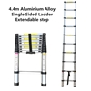 4.4m Aluminium Alloy Single Sided Ladder Extendable step  (Pooraka, SA)