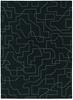 Estella 85105 Large Black Handmade High Quality Wool Rug-280X200cm