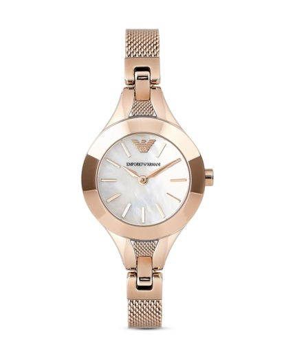 Stylish new Mother of Pearl Emporio Armarni Ladies Watch