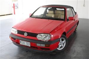 1995 Volkswagen Golf GL Automatic Conver