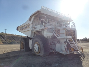 2008 Liebherr T262 Rigid Dump Truck