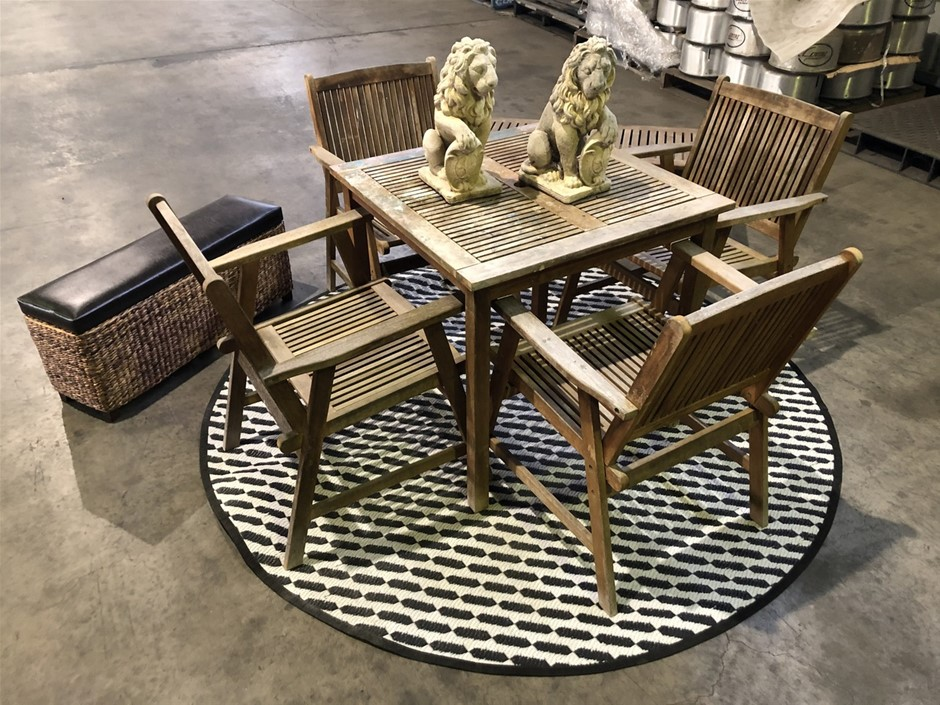 Outdoor Dining Set, Benches & Statues (Pooraka, SA)