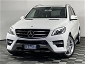 Unreserved 2015 Mercedes Benz ML250 BlueTEC W166