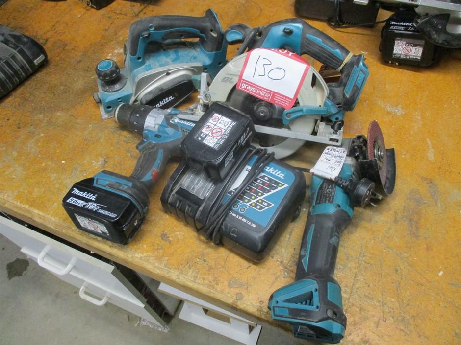 4x Makita 18v Hand Held Tools
