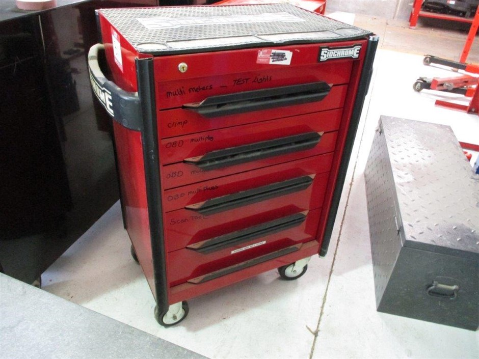 Sidchrome Tool Chest & Contents of Tools