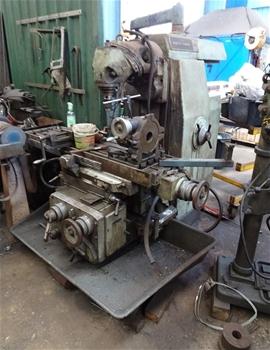 Adcock Shipley - 25 Milling Machine