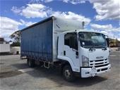2008 Isuzu FRR 600 4 x 2 Curtainsider Rigid Truck