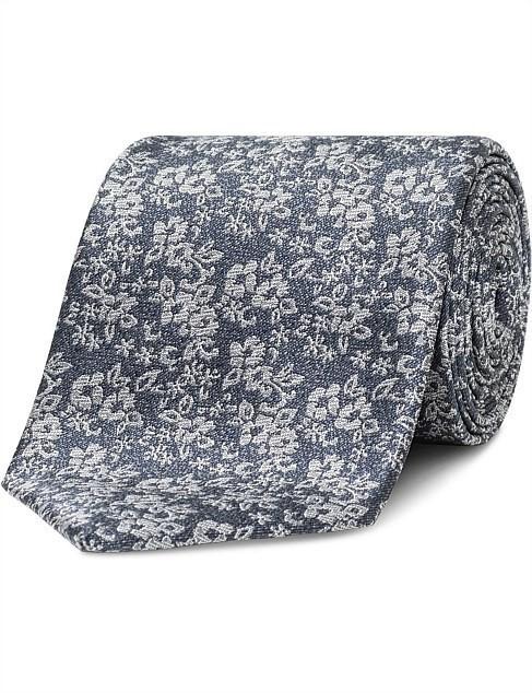 VAN HEUSEN Grey Floral Colour: Grey. Polyester. Buyers Note - Discount Frei