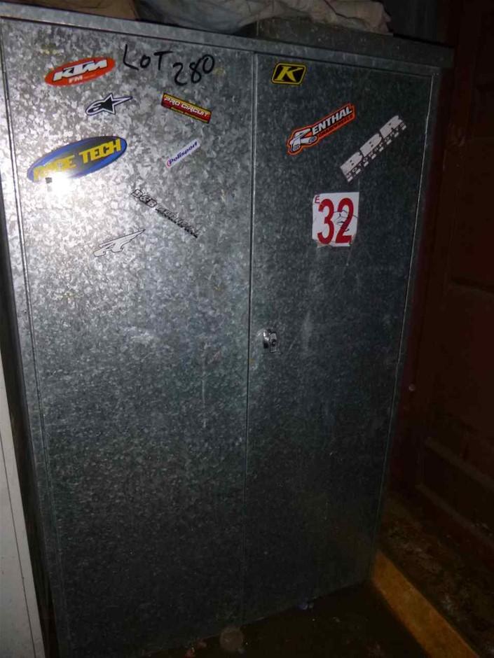 Metal 2 Door Cabinet