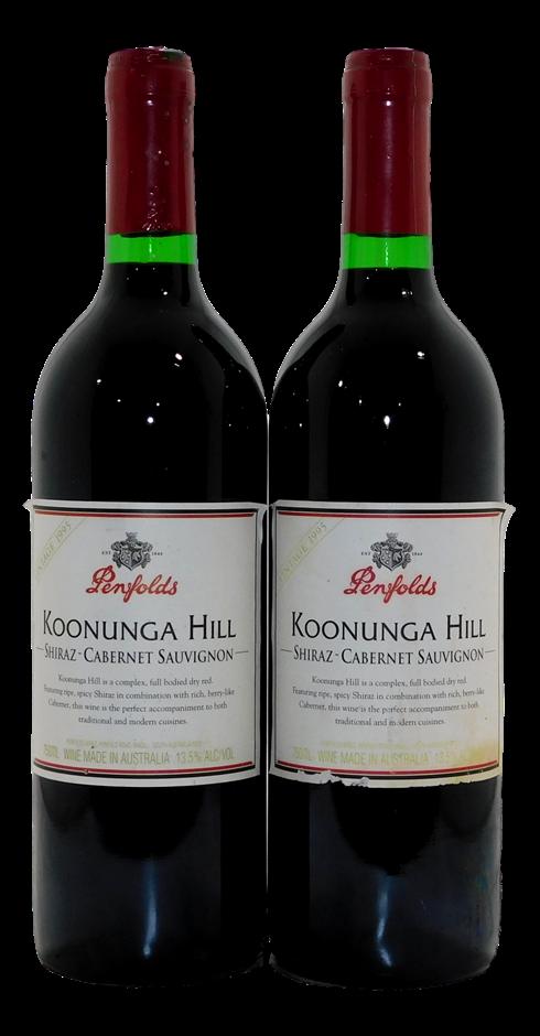 Penfolds Koonunga Hill Shiraz Cabernet 1995 (2x 750mL)
