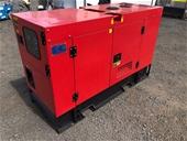 Unused 25kVA Generators - VIC