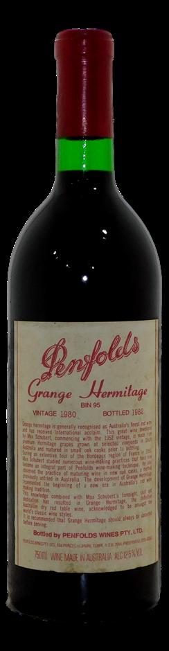 Penfolds Bin 95 Grange 1980 (1x 750mL)