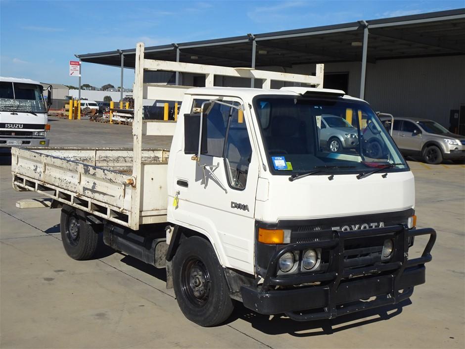 1986 Toyota Dyna LY6OR Tray Body Truck (Pooraka, SA)