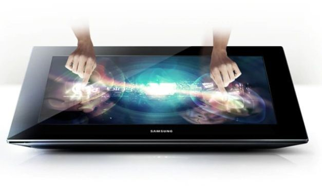 Samsung SUR40 SMART Interactive Signage Display with Microft PixelSense