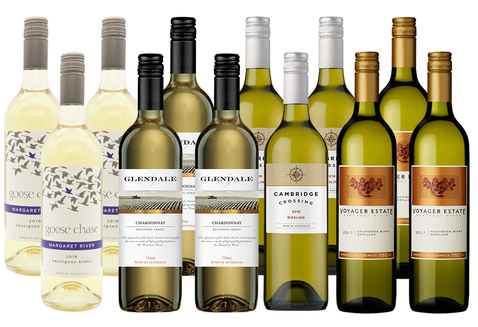 Mixed Aussie Whites Pack (12x 750mL)