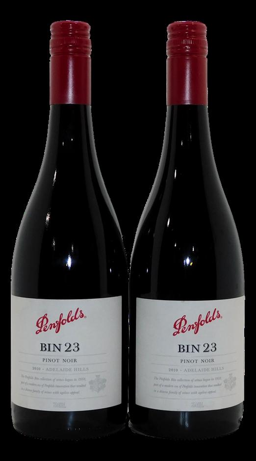 Penfolds Bin 23 Pinot Noir 2010 (2x 750mL), SA