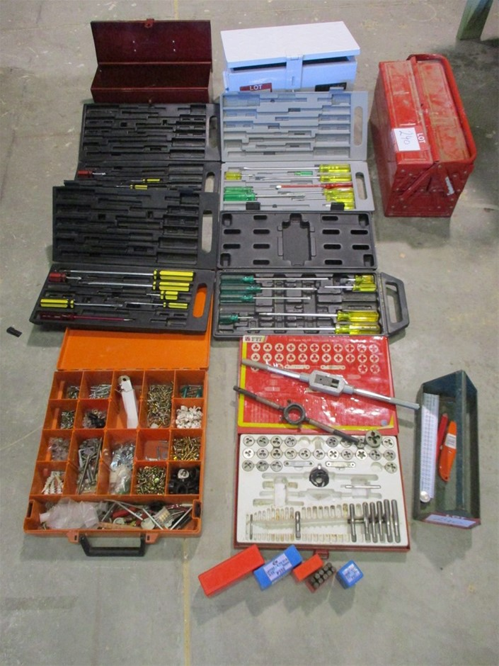 Qty of Tool Boxes & Tools