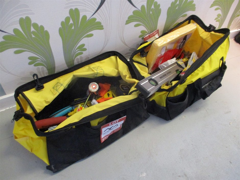 Qty 2 x Medalist Tool Bags with Tools