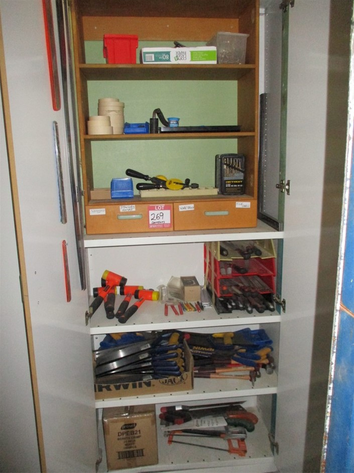 Qty of Assorted Manual Hand Tools