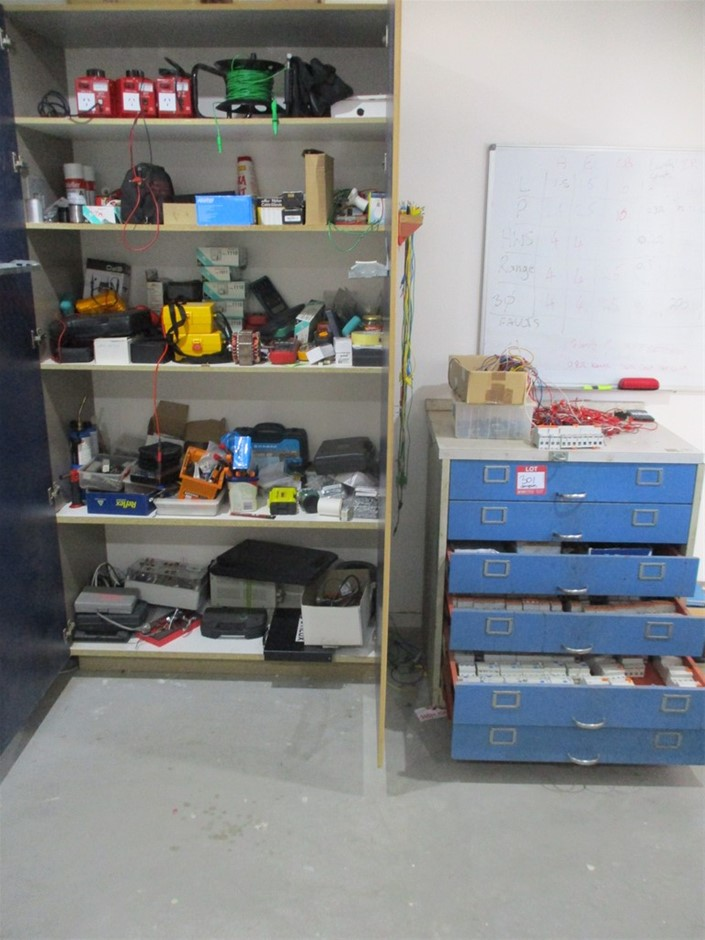 Large Qty of Electrical / Trade Equipment