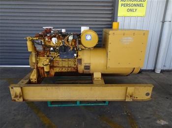 2008 CAT SR-4 181KVA Industrial Generator