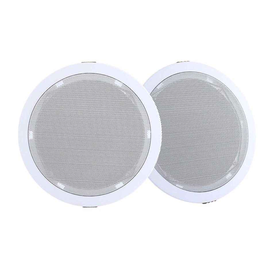 "2 x 6"" In Ceiling Speakers 80W Speaker Theatre Stereo Outdoor Multi Room"
