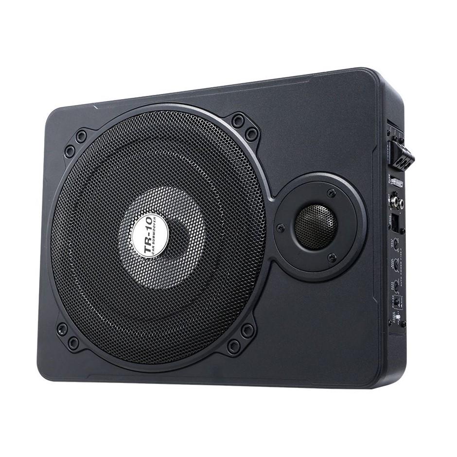 600W Car Subwoofer 10 Inch Ultra-Thin Speaker Audio Amplifier Under-Seat