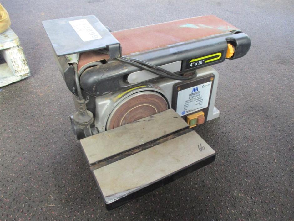 Metaltech MTBDS46 Industrial Belt/Disc Sander