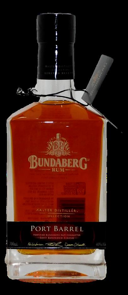 Bundaberg Port Barrel MDC Rum NV (1x 700mL, #05024)