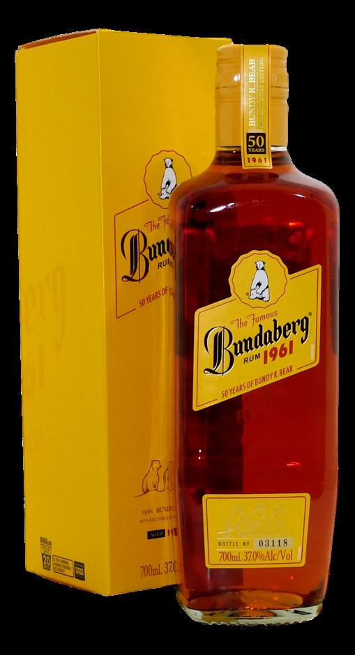 Original 1961 Rum NV (1x 700mL, Bottle # 03118), QLD. Screwcap