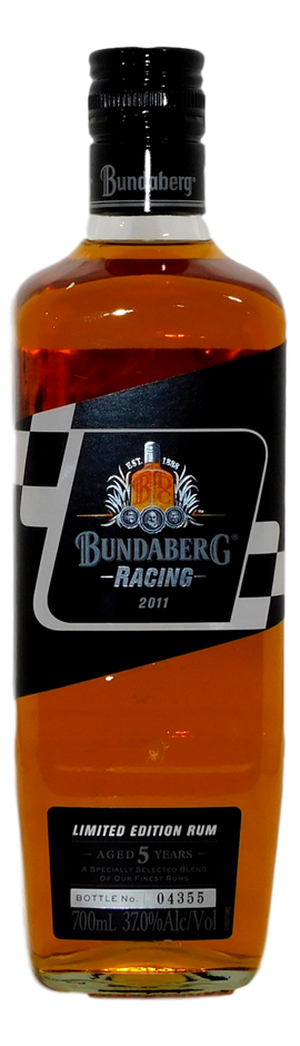 Racing Rum NV (1x 700mL, Bottle # 04355), QLD. Screwcap