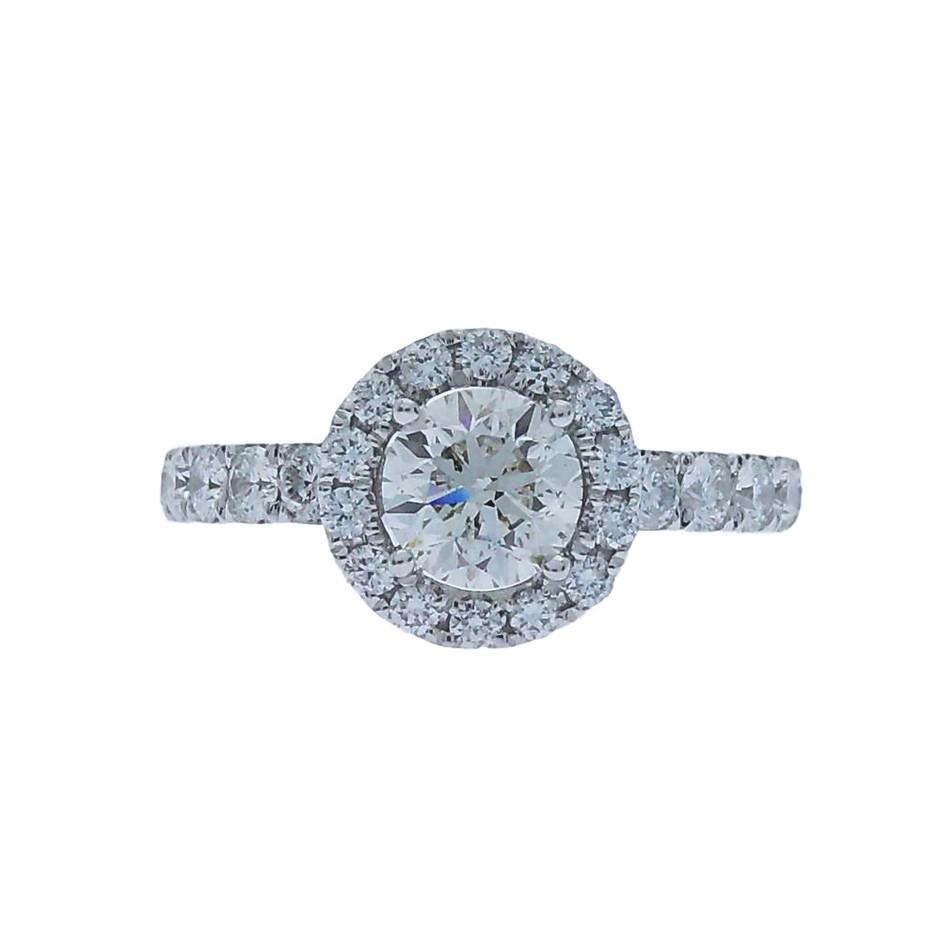 18ct White Gold, 1.78ct GIA Diamond Engagement Ring