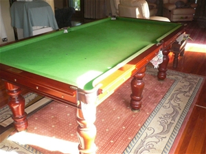 Billiard Table Abbott Doyle Approx M Long X M Wide Slate - How wide is a pool table