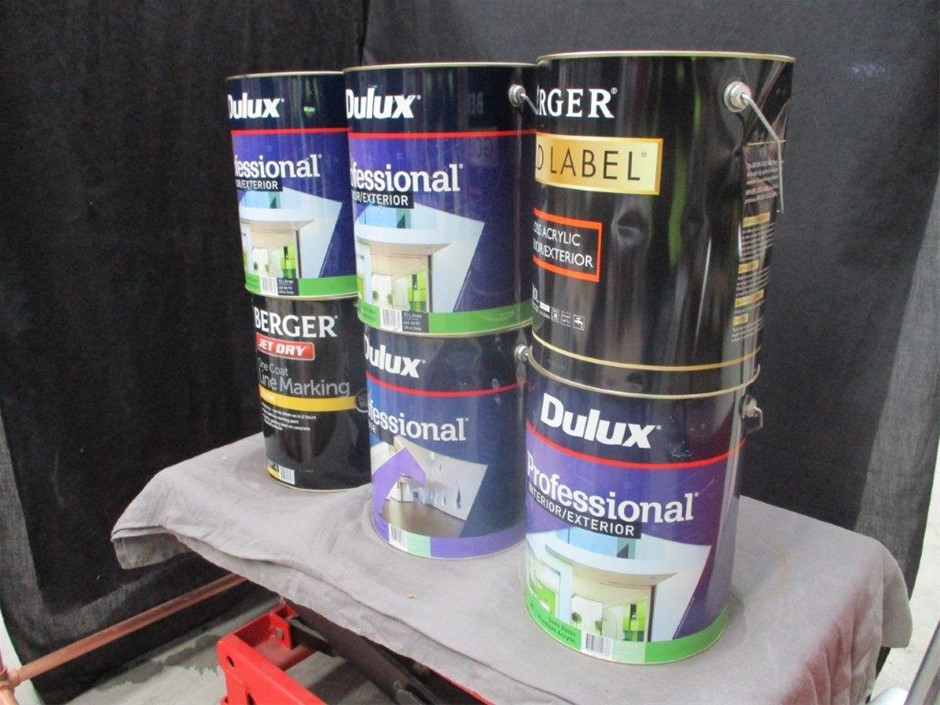 10 Litres Assorted Paint