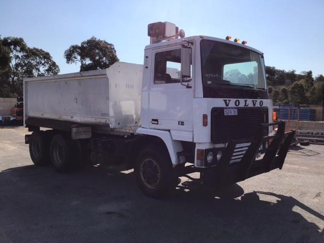 1980 Volvo F10 6 x 2 Tipper Truck