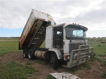 1983 Volvo HYF 10/12 6x4 Tipper Truck