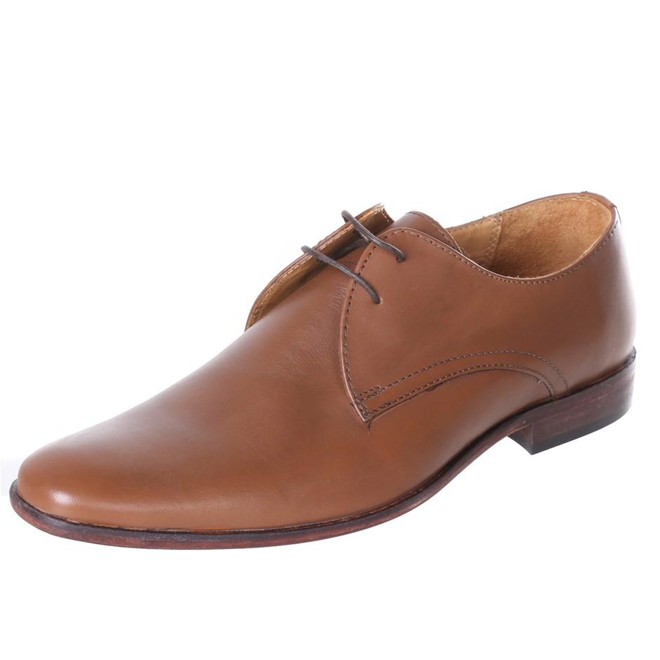 STUDIO W Ay Teak Lace Up Dress Shoes. Size 6, Colour: Tan. Buyers Note - Di