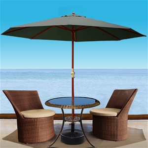 Instahut Umbrella Outdoor Pole Stand Sun