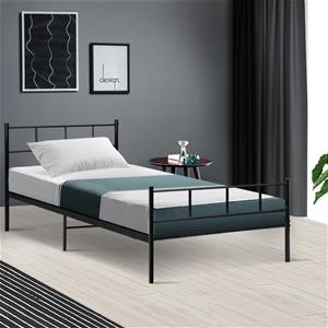 Metal Bed Frame Single Size Platform Fou