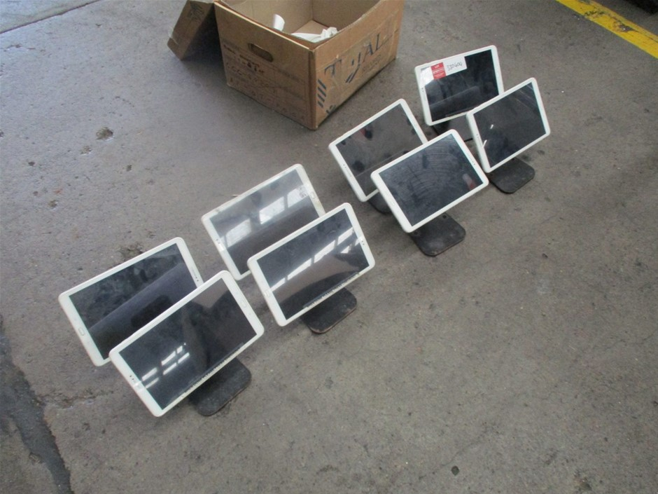 Qty 8x Samsung Tablets (Parts Only)