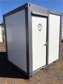 Unreserved 2020 Unused Ablution/Toilet Block