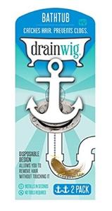 DRAINWIG BATHTUB - RETAIL 2PK