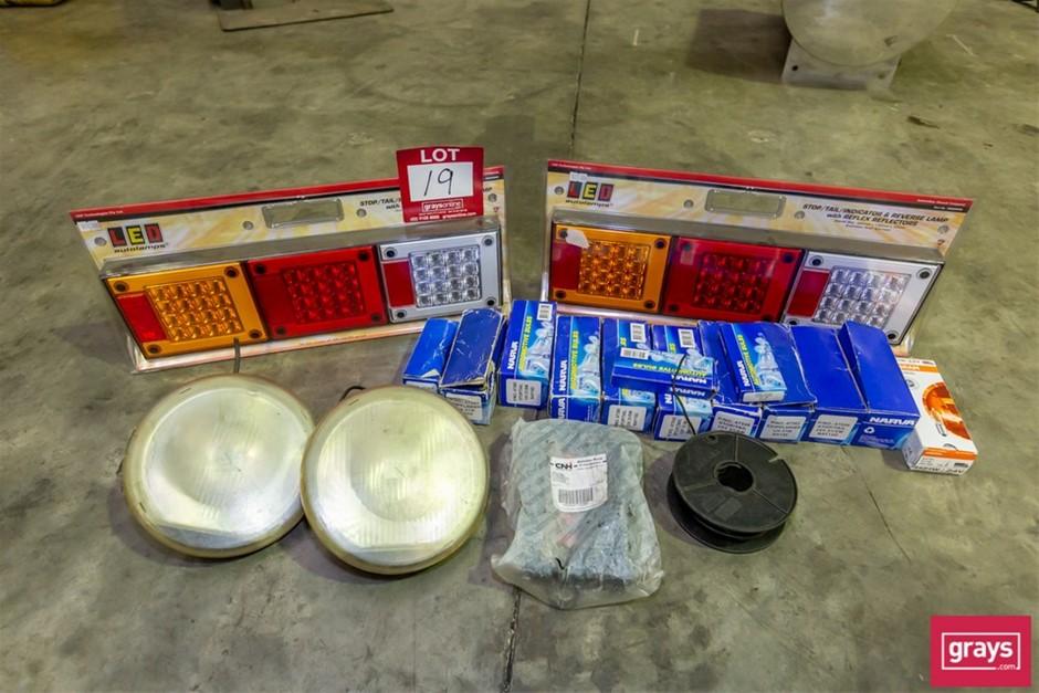 Assorted Truck Light Accessories