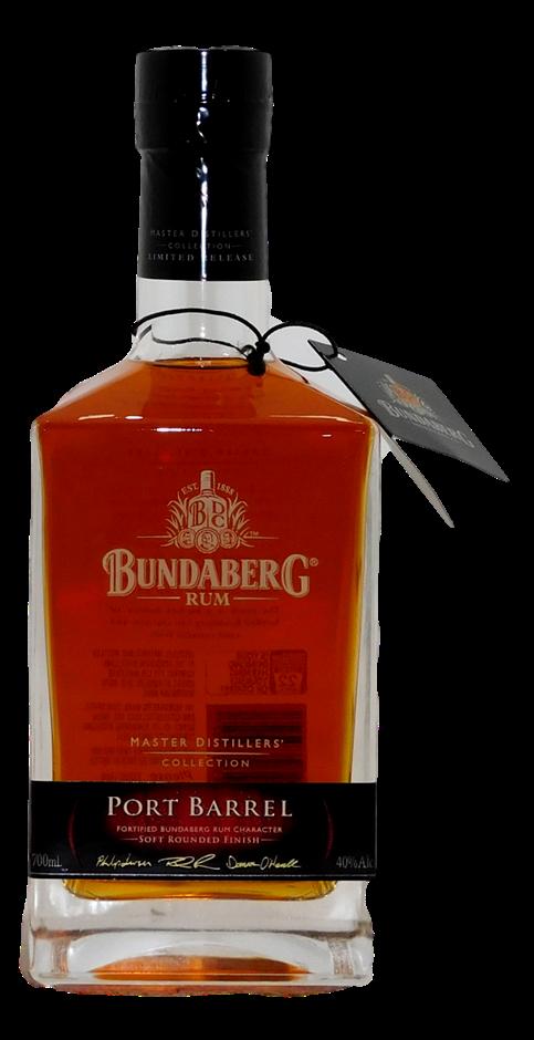 Bundaberg Port Barrel Master Distillers Collection Rum (1x 700mL, #05021)