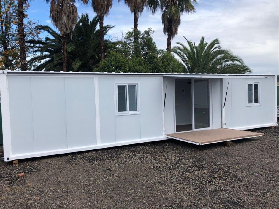 Container Home/Portable Building /Office/Site Shed with Awning